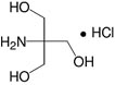 Structure Tris(hydroxymethyl)aminomethan·Hydrochlorid_reinst