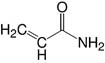 Structure Acrylamide 4X_analytical grade