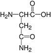 Structure L-Asparagine monohydrate_, Ph.Eur. research grade, Ph. Eur.