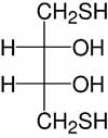 Structure Dithioerythritol_analytical grade