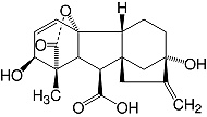 Structure Gibberellic acid_cryst. pract.