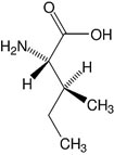 Structure L-Isoleucine_research grade, Ph. Eur., USP