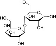 Structure Lactose_research grade, Ph. Eur.