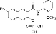 Structure Naphthol-AS-BI-phosphate_research grade