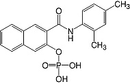 Structure Naphthol-AS-MX-phosphate_research grade