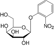 Structure 2-Nitrophenyl-β-D-galactopyranoside_research grade