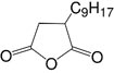 Structure Nonenylsuccinic anhydride_pure