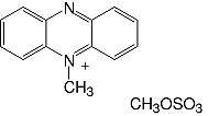 Structure Phenazine·methosulfate_pure