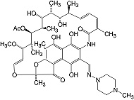 Structure Rifampicin_research grade