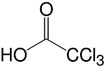 Structure Trichloroacetic acid_analytical grade