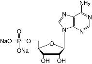 结构腺苷5'-磷酸盐&#183; Na <sub> 2 </ sub> -salt_analytical等级