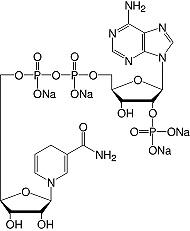 结构-β-烟酰胺腺嘌呤二核苷酸磷酸还原的&#183; Na <sub> 4 </ sub> -salt_analytical等级